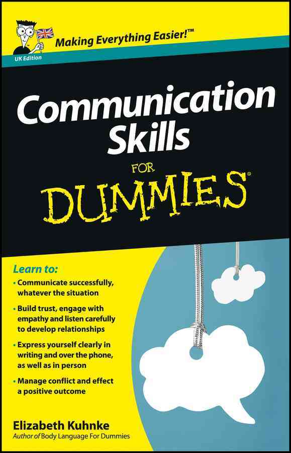 Communication Skills for Dummies By Kuhnke, Elizabeth